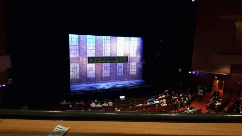 Seating view for Durham Performing Arts Center Section Grand Tier 5 Row a Seat 305