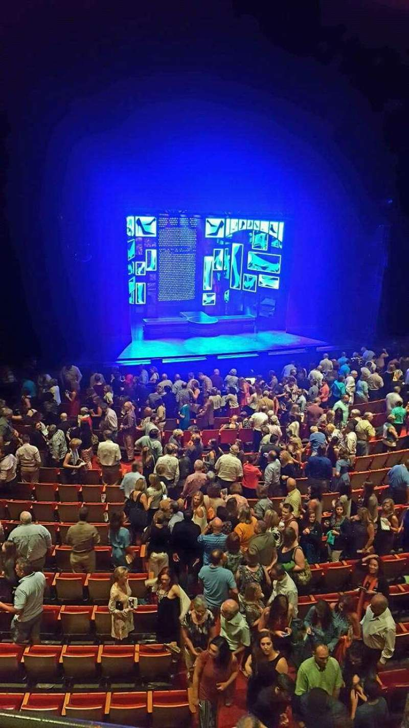 Seating view for Durham Performing Arts Center Section Grand Tier 5 Row a Seat 306