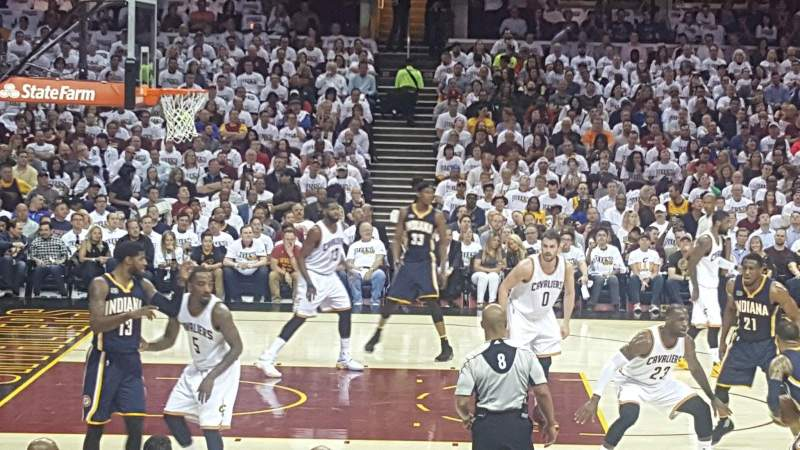 Quicken Loans Arena, section: 125, row: 12, seat: 1