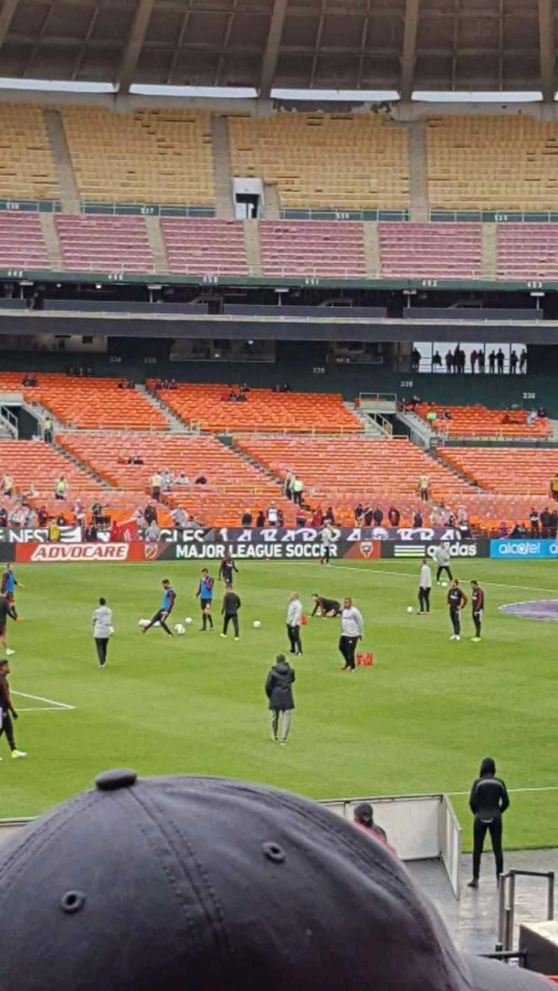 Seating view for RFK Stadium Section 212 Row 14 Seat 8