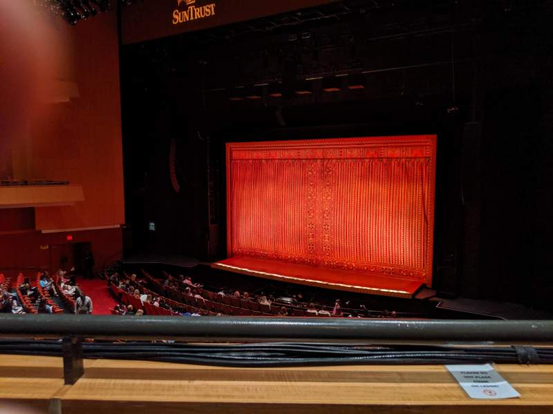 Seating view for Durham Performing Arts Center Section Grand Tier 7 Row A Seat 207
