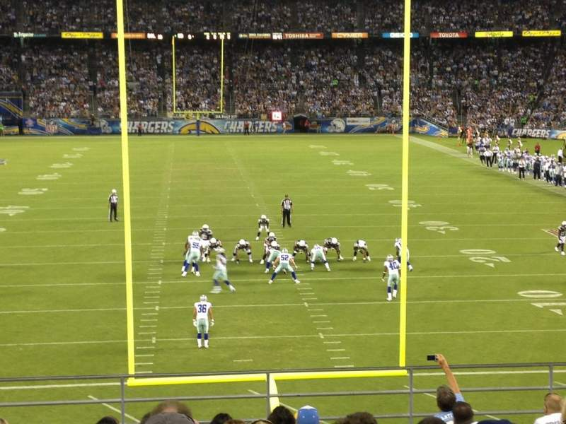 Seating view for Qualcomm Stadium Section P51 Row 13 Seat 3