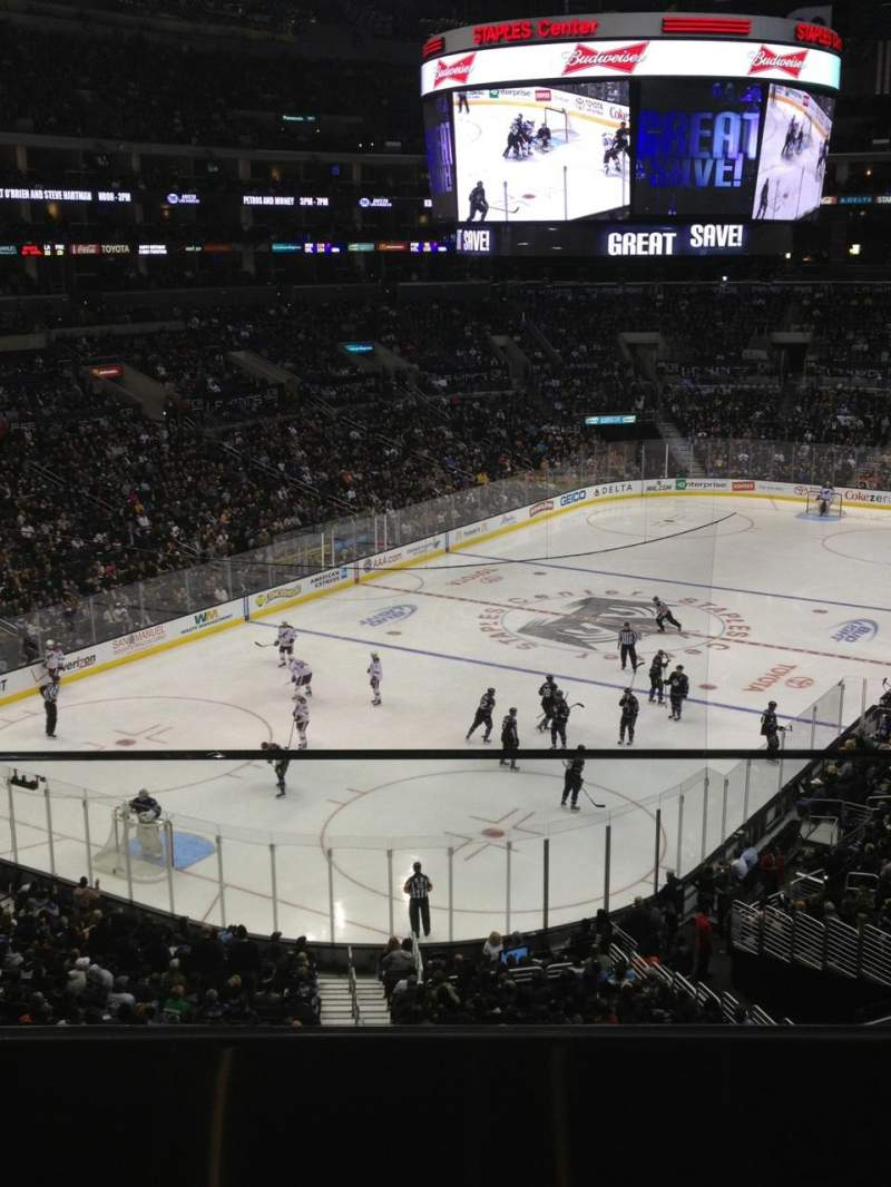 Seating view for Staples Center Section SUITE B24 Row B Seat 24