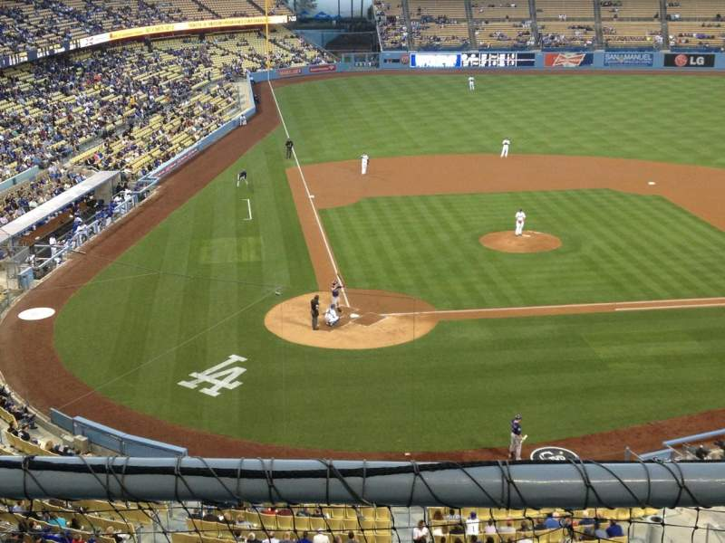 Seating view for Dodger Stadium Section 6RS Row B Seat 17