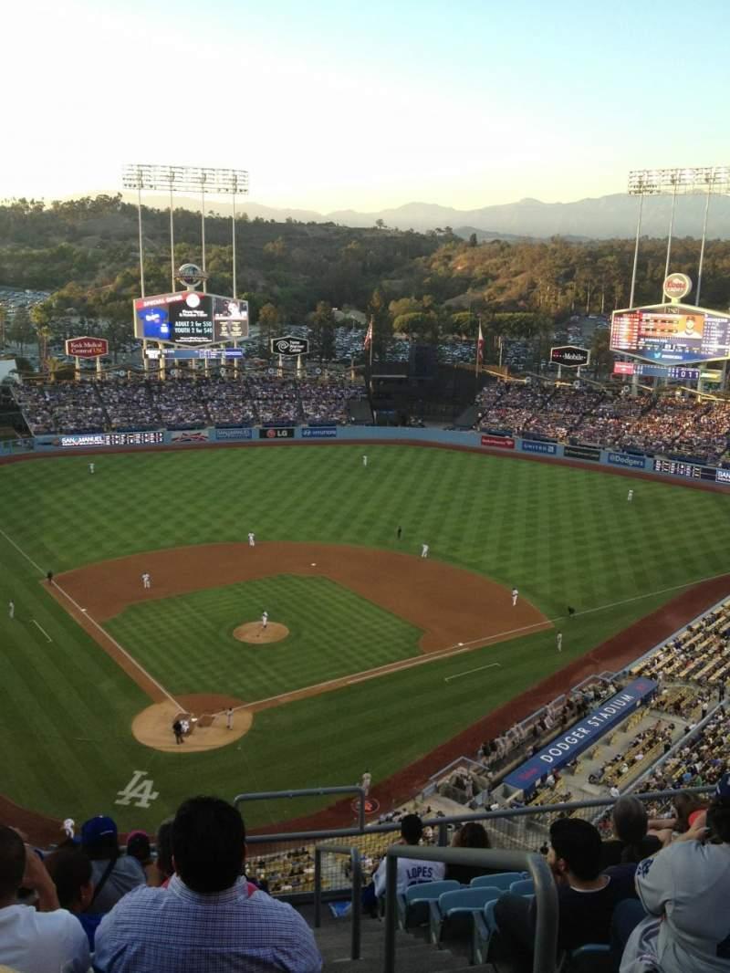 Dodger Stadium, section: 4TD, row: J, seat: 19