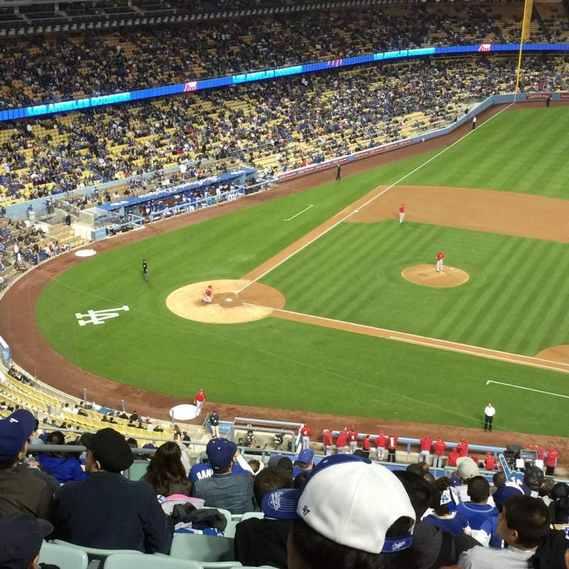 Seating view for Dodger Stadium Section 20RS Row T Seat 4