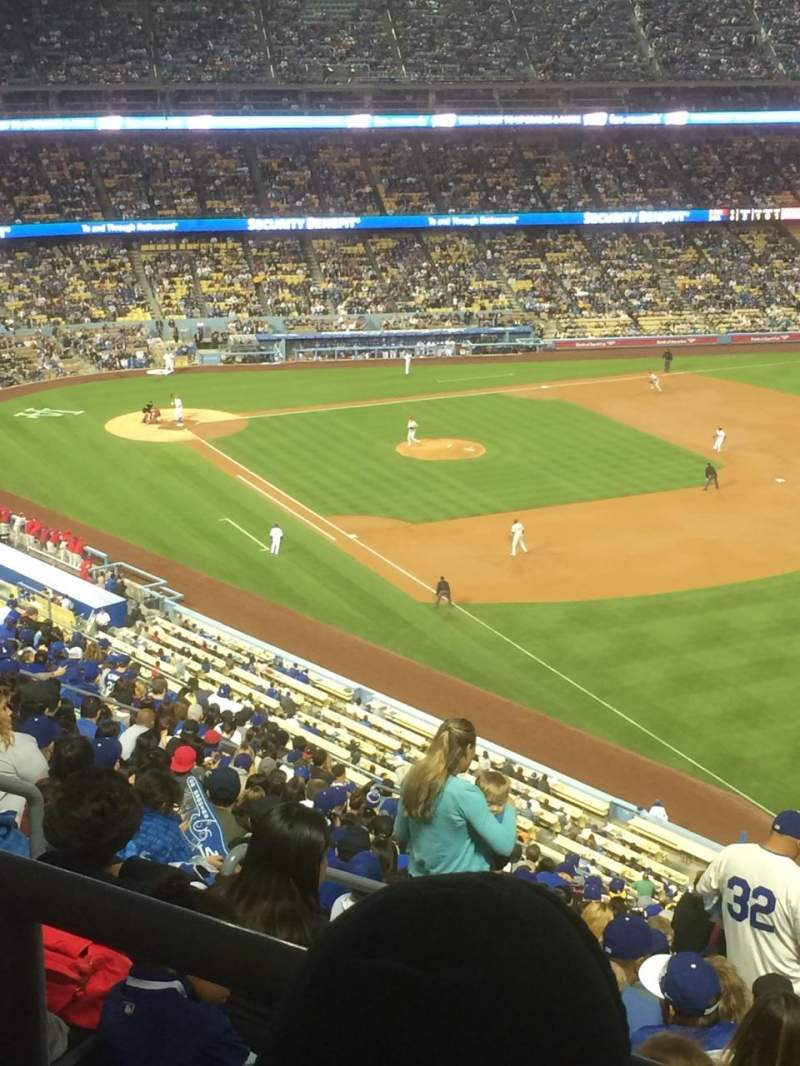 Seating view for Dodger Stadium Section 42RS Row BB Seat 22