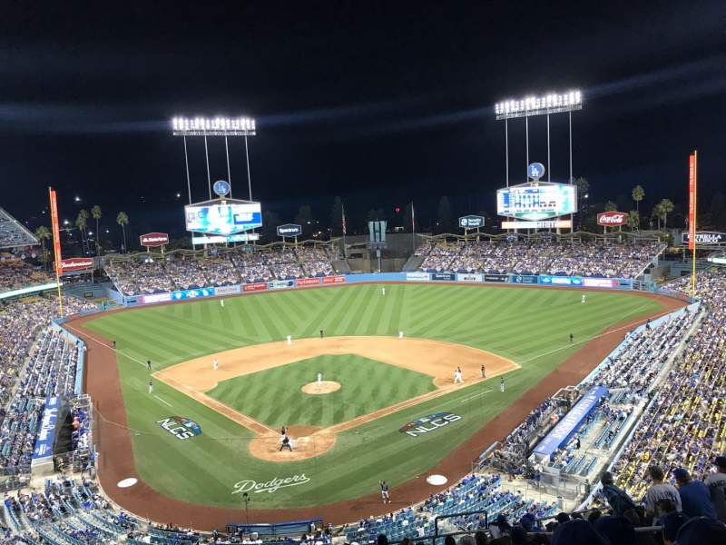 Seating view for Dodger Stadium Section 2RS Row O Seat 17