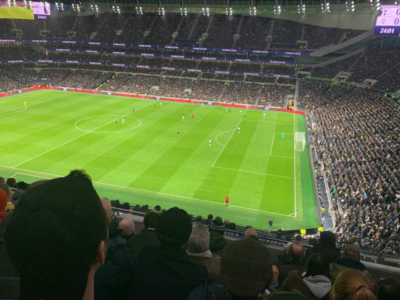 Seating view for Tottenham Hotspur Stadium Section 501 Row 12 Seat 65