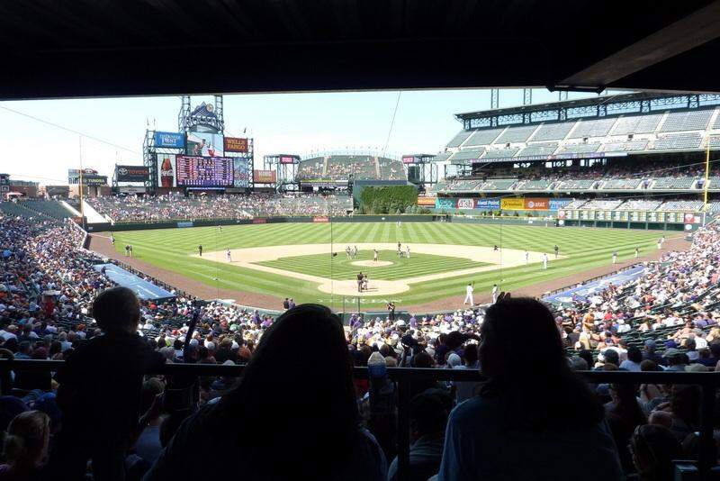 Seating view for Coors Field Section 130 Row WC Seat Wheelchair