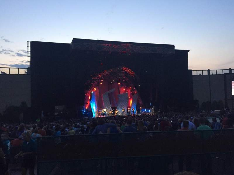Fiddler's Green Amphitheatre, section: 204, row: C, seat: 1