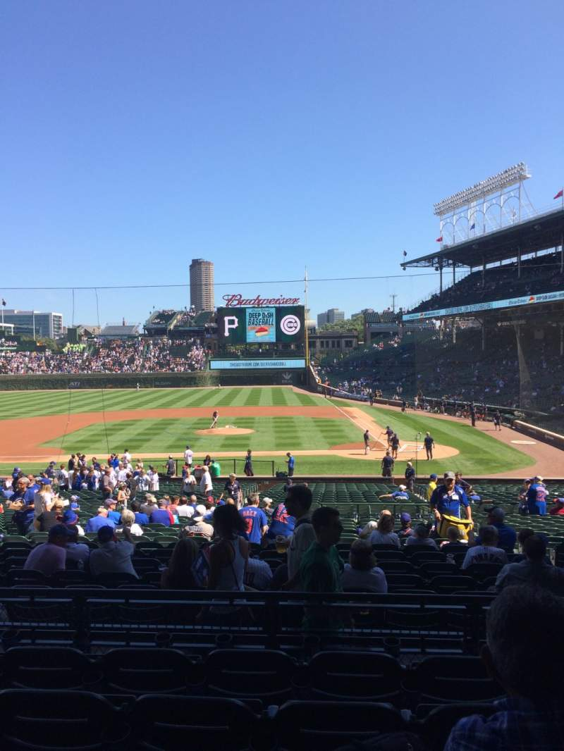 Seating view for Wrigley Field Section 215 Row 5 Seat 13