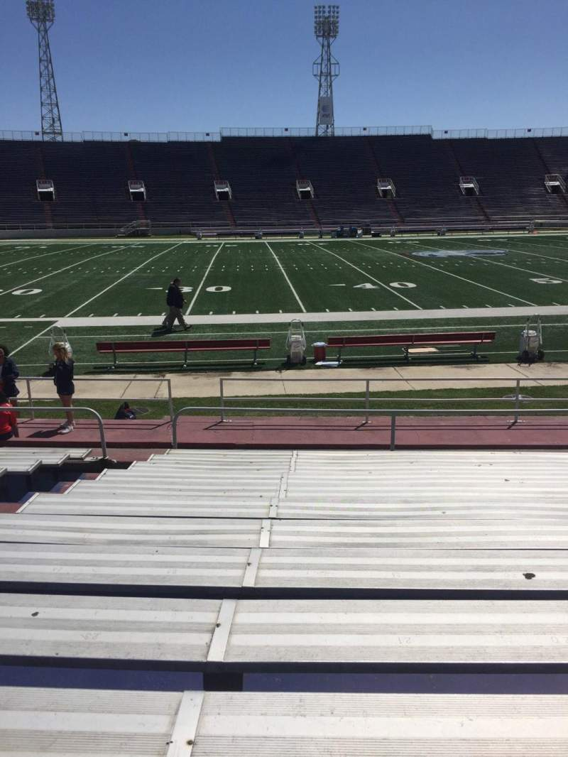 Seating view for Ladd Peebles Stadium Section G Row 12 Seat 22