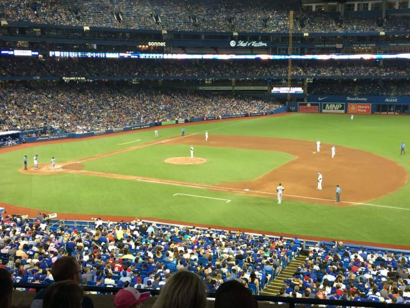 Seating view for Rogers Centre Section 216L Row 5 Seat 105