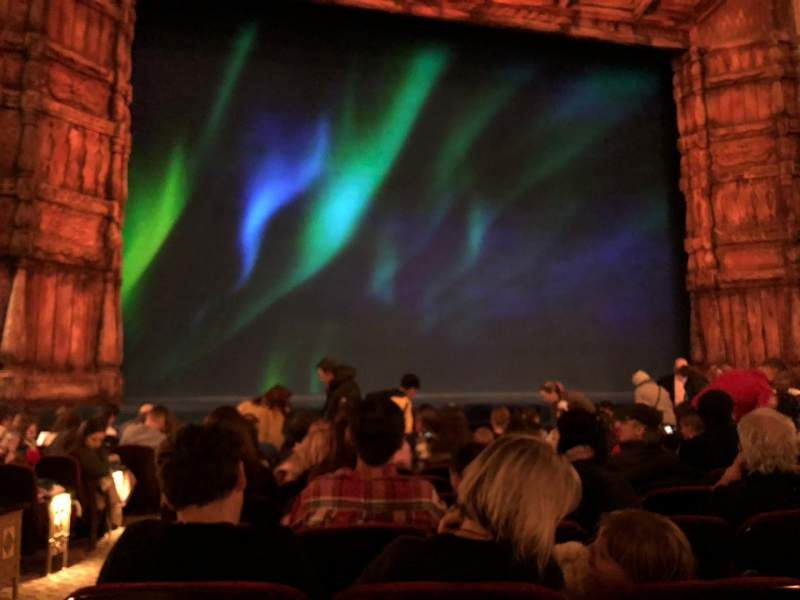 Seating view for St. James Theatre Section Orchestra C Row K Seat 115