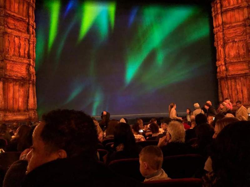 Seating view for St. James Theatre Section Orchestra C Row K Seat 113