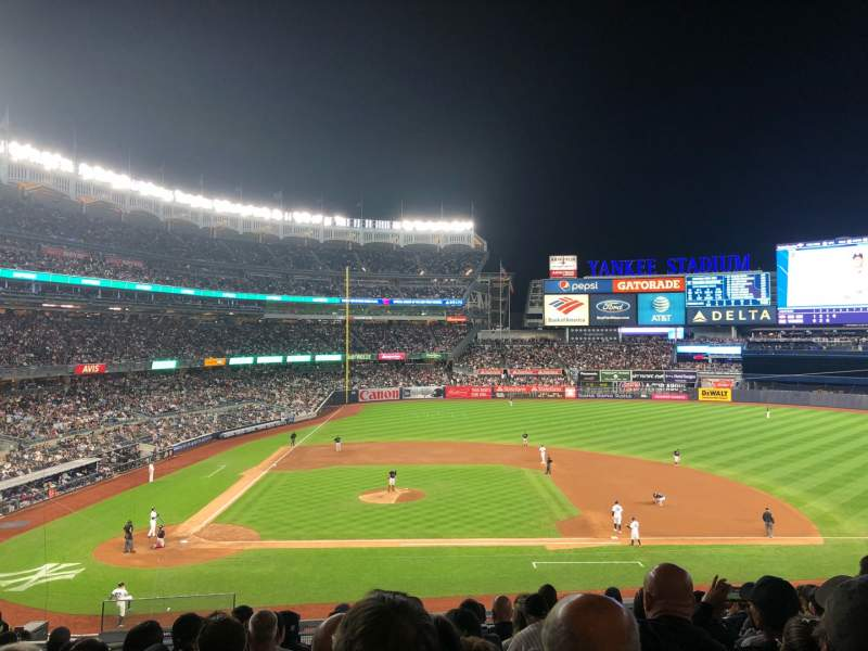 Seating view for Yankee Stadium Section 216 Row 10