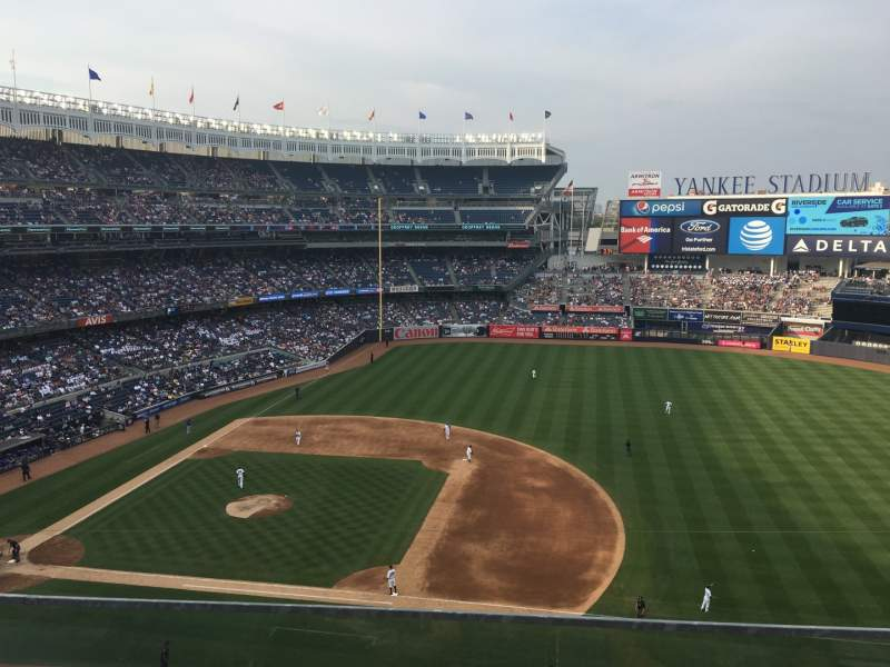 Seating view for Yankee Stadium Section 314 Row 2