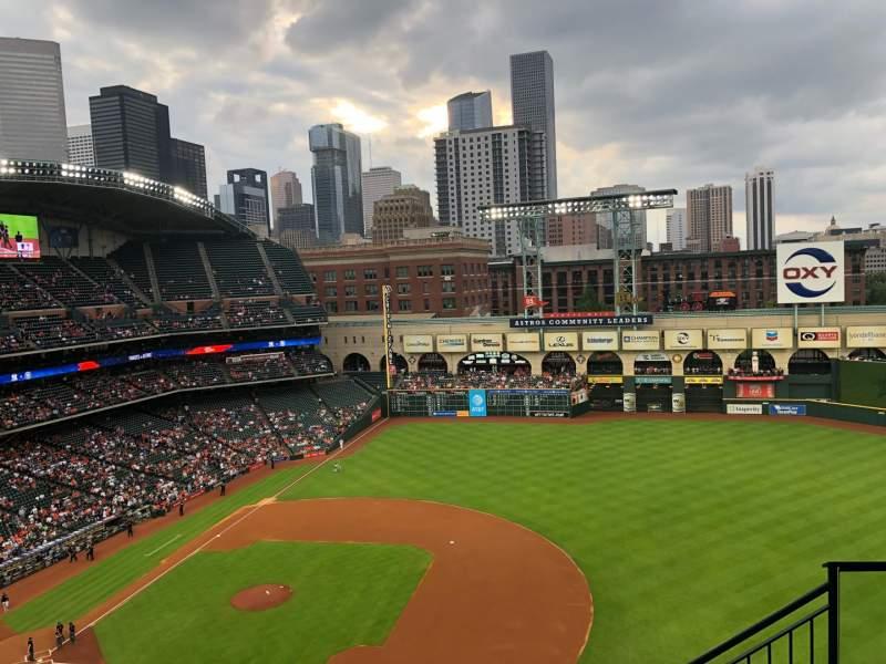 Minute Maid Park Interactive Baseball Seating Chart