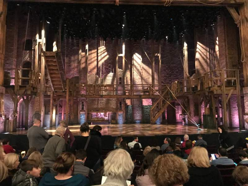 Seating view for Richard Rodgers Theatre Section Orchestra C Row K Seat 109