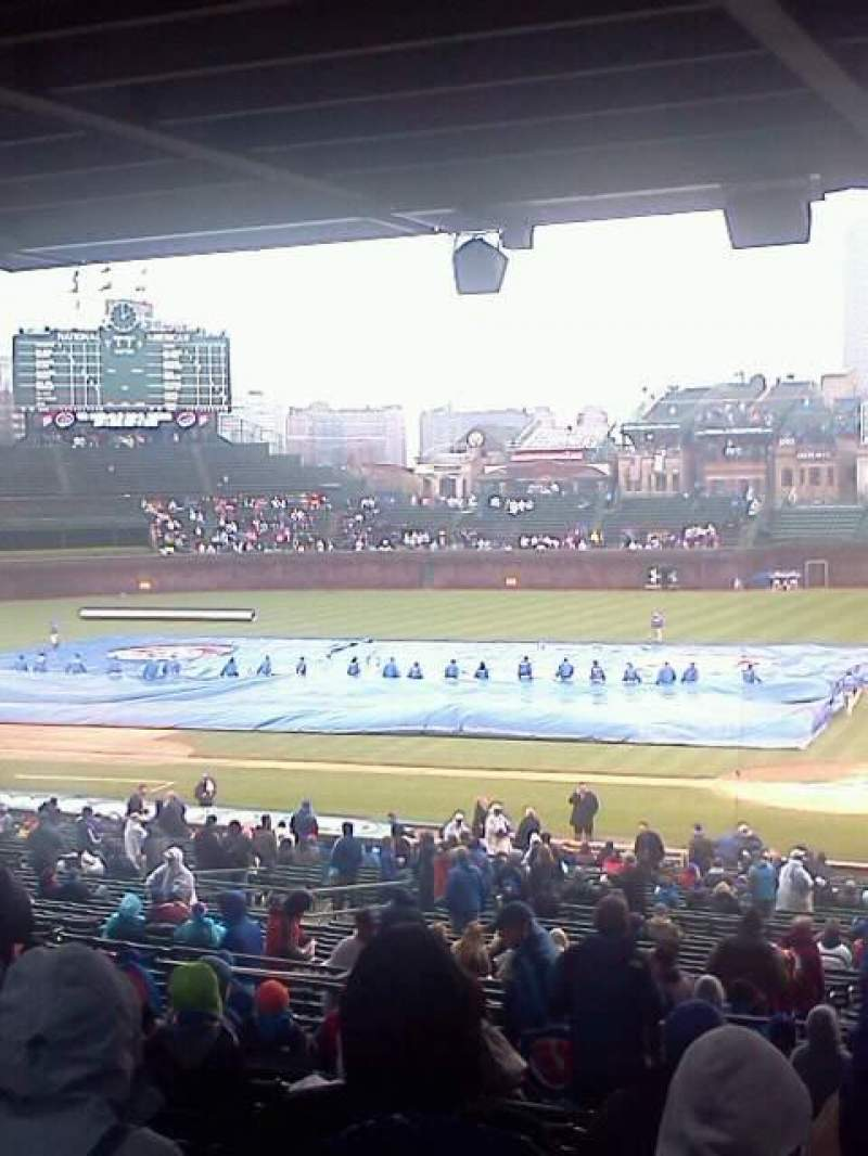 Seating view for Wrigley Field Section 218 Row 15 Seat 103