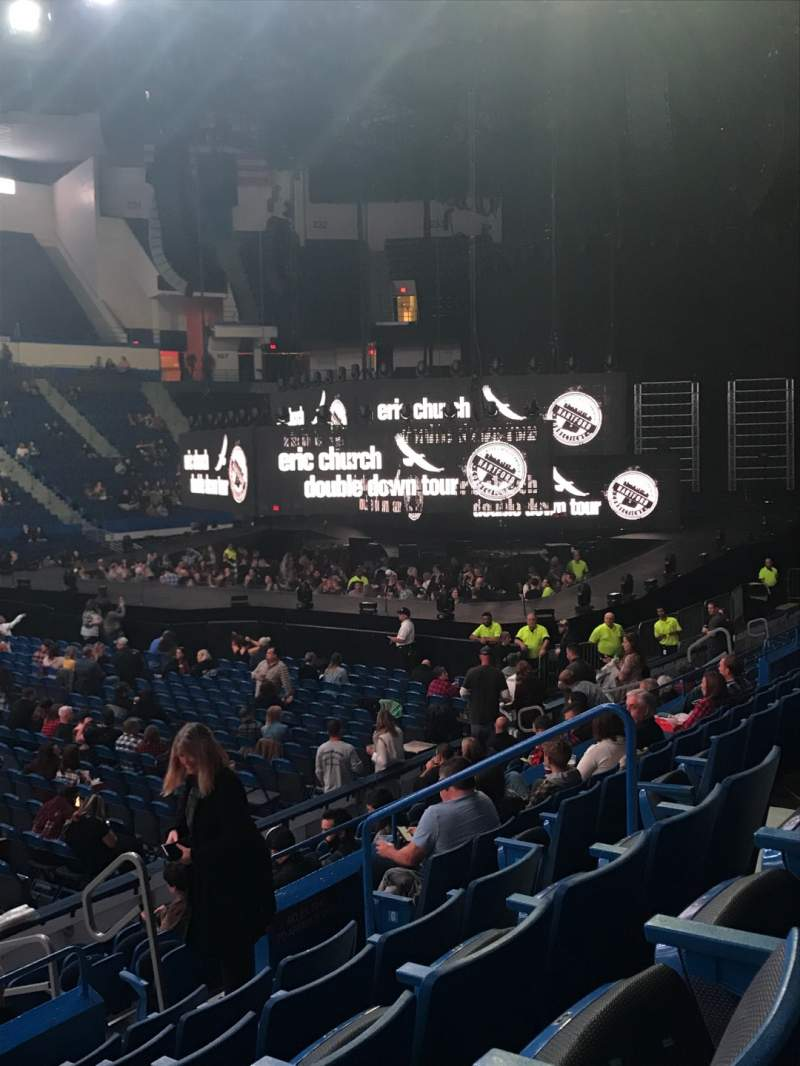 Seating view for XL Center Section 117 Row M Seat 8
