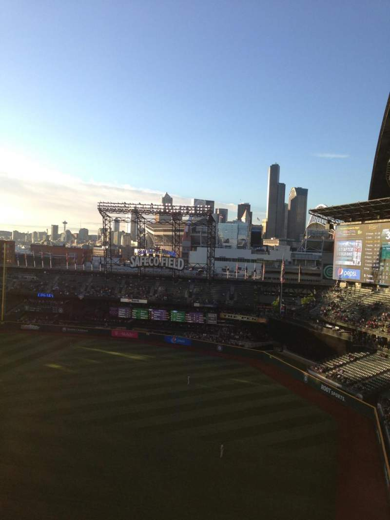 Seating view for Safeco Field Section 315 Row 111 Seat 7