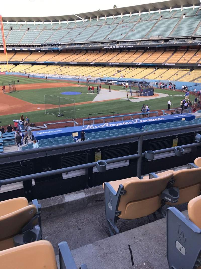 Dodger Stadium, section: 139LG, row: C, seat: 1