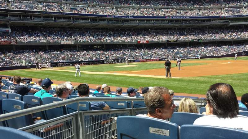 Seating view for Yankee Stadium Section Champions Suite - Sec 13 Row 7 Seat 12