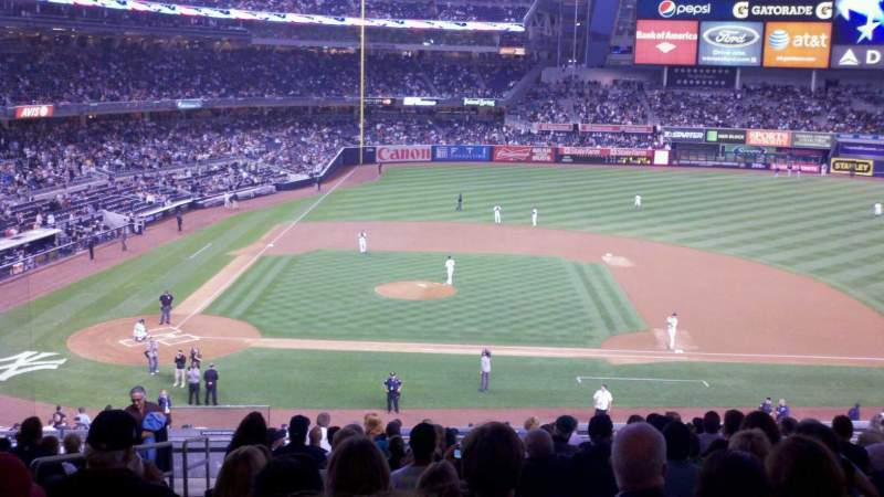 Seating view for Yankee Stadium Section 216 Row 16 Seat 18