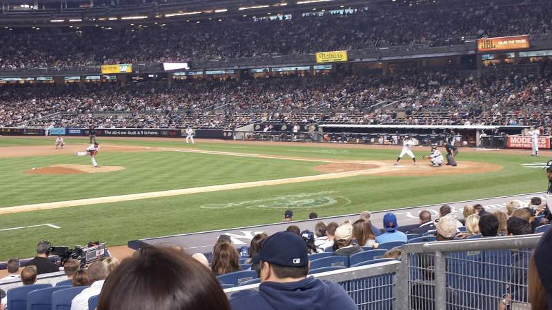 Seating view for Yankee Stadium Section 125 Row 15 Seat 3
