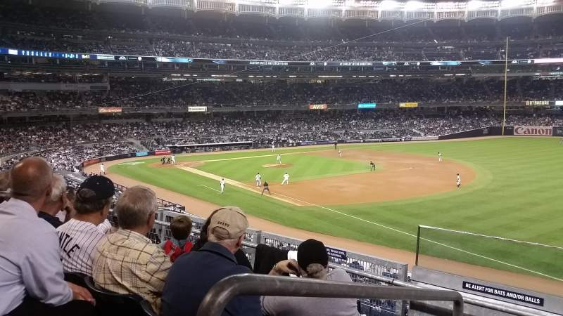 Seating view for Yankee Stadium Section 211 Row 4 Seat 19