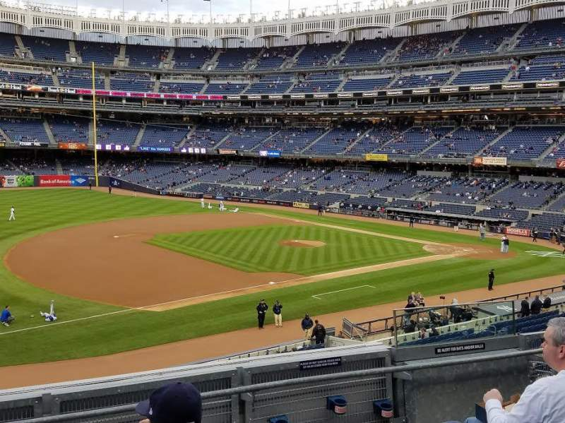 Seating view for Yankee Stadium Section 227B Row 5 Seat 5