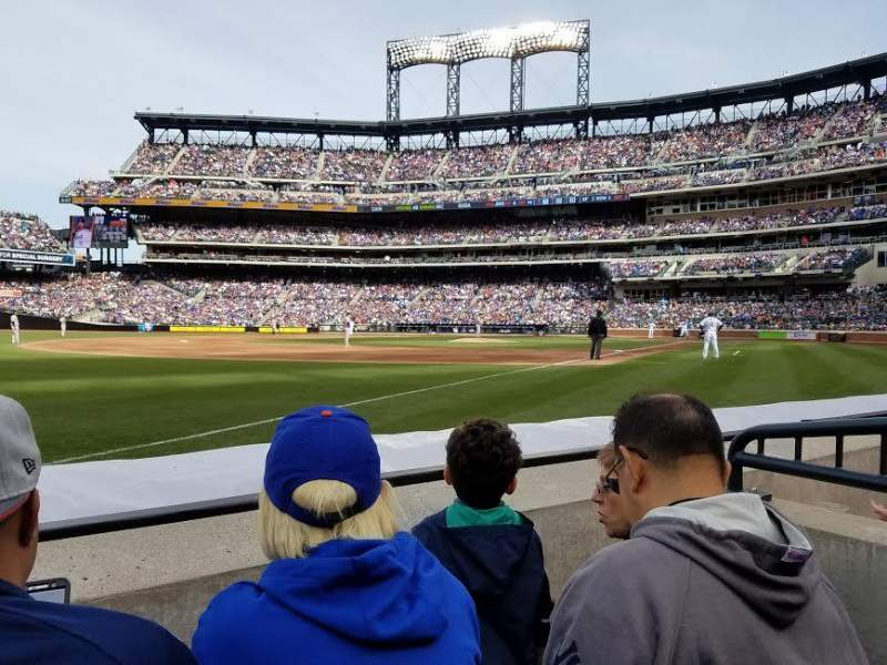 Seating view for Citi Field Section 128 Row 2 Seat 14