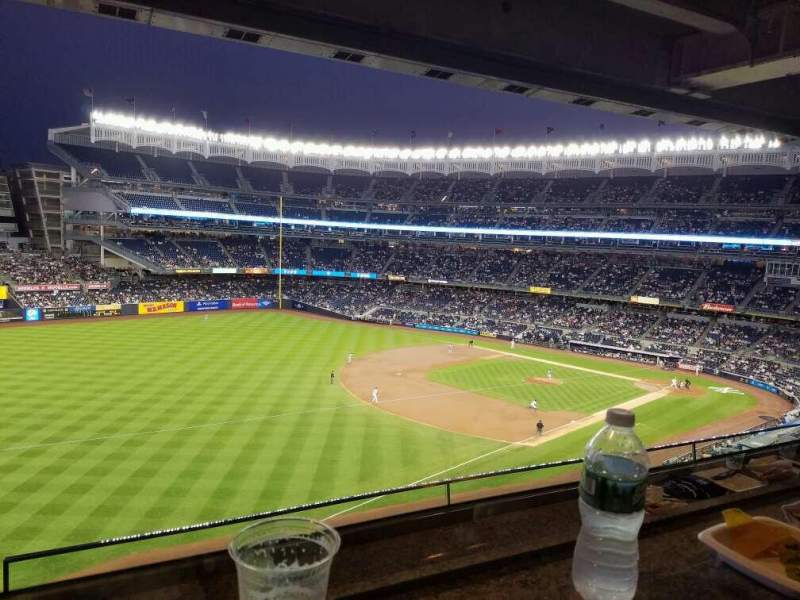 Seating view for Yankee Stadium Section Suite 62 Row 2 Seat 21