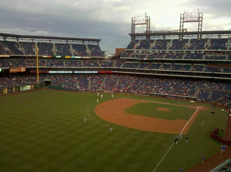 Seating view for Citizens Bank Park Section 333
