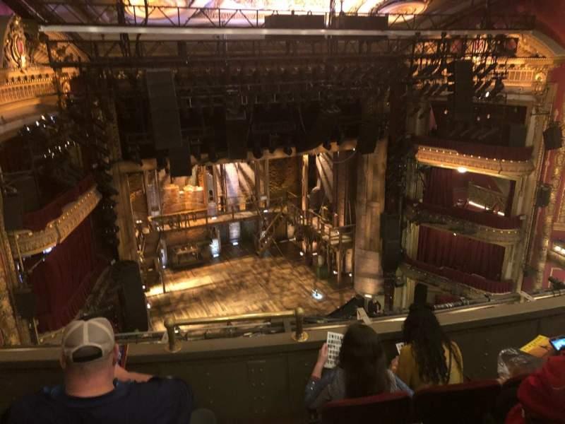CIBC Theatre, section: Balcony L, row: D, seat: 1