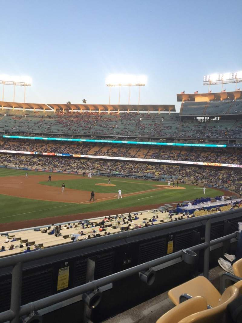 Seating view for Dodger Stadium Section 151LG Row B Seat 6
