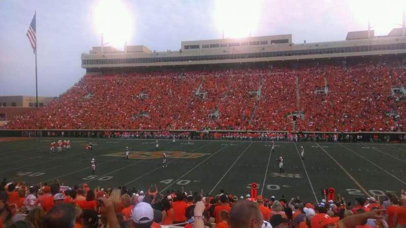 Seating view for Boone Pickens Stadium Section 224 Row 9 Seat 33