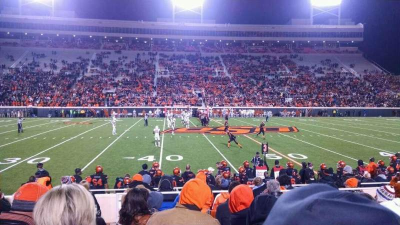 Seating view for Boone Pickens Stadium Section 105 Row 11