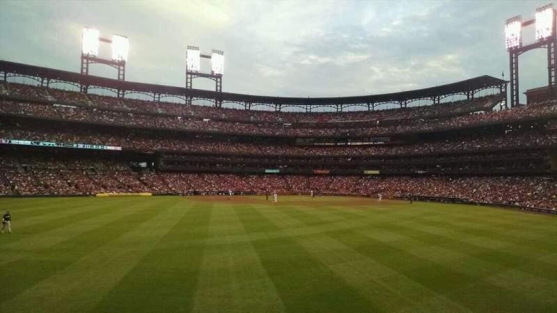 Busch Stadium, section: 595, row: 6