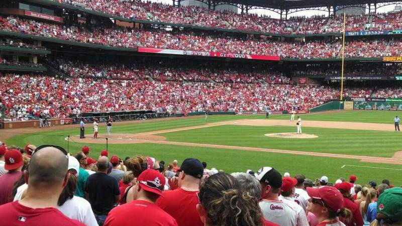 Seating view for Busch Stadium Section 142 Row 10