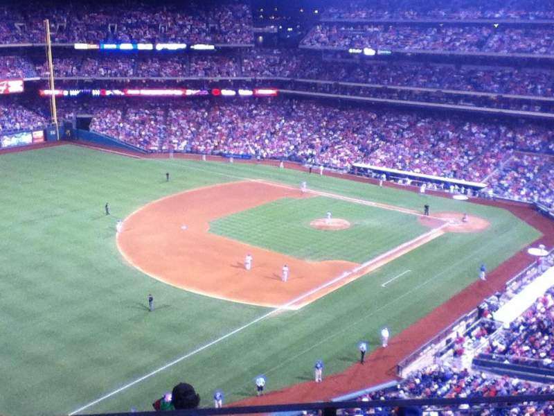 Seating view for Citizens Bank Park Section 432 Row 2 Seat 7