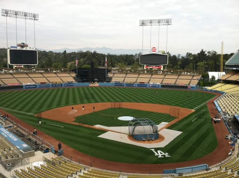 Dodger Stadium, section: Vin Scully Press Box