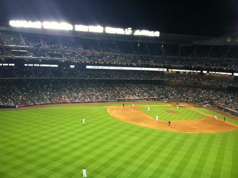 Seating view for Minute Maid Park Section The Train