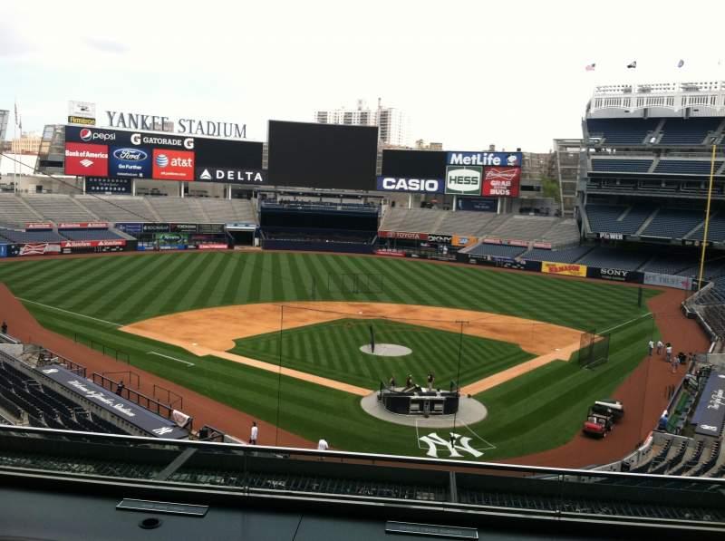 Yankee Stadium, section: Press Box