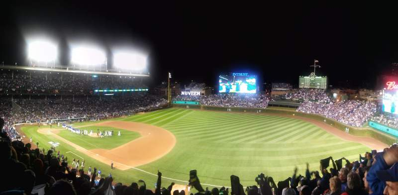 Wrigley Field, section: 433, row: 8, seat: 12