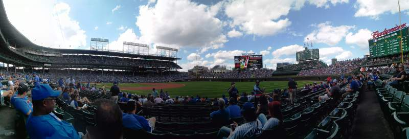 Seating view for Wrigley Field Section 137 Row 5 Seat 4