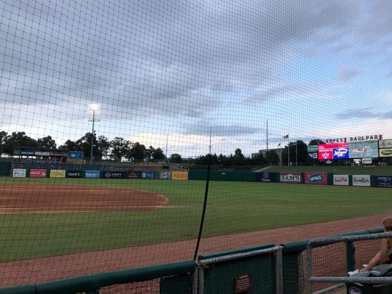 Seating view for Arvest Ballpark