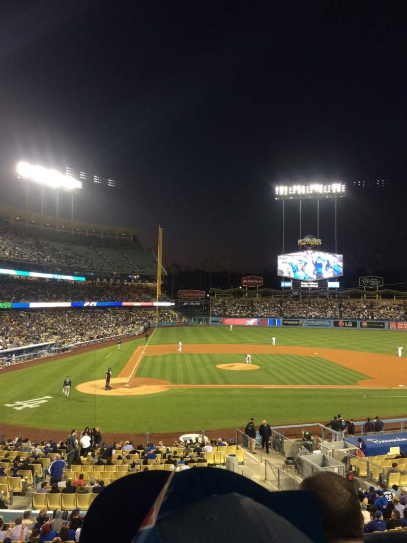 Seating view for Dodger Stadium Section 122LG Row C Seat 3